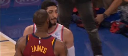 Enes Kanter trolls LeBron James once again. Image Credit: MLG Highlights / YouTube