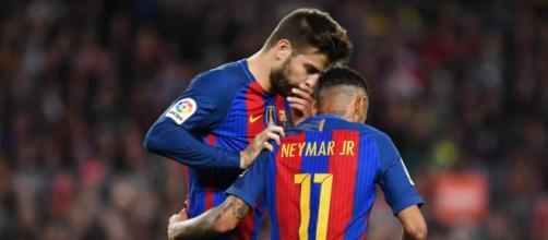 Foot PSG - PSG : Piqué met le bazar dans le dossier Neymar - Foot 01 - foot01.com