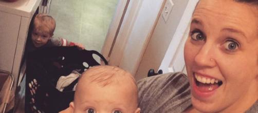 Jill Duggar Dillard nose piercing revealed.[Photo Image credit via Jill Duggar Dillard Instagram]