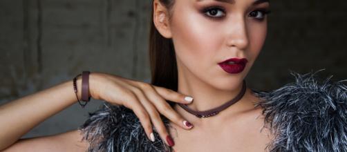 Labios de vampira para un look sexy