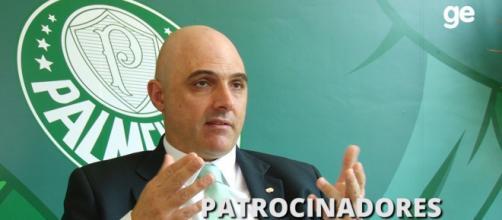 Maurício Galiotte é o presidente do clube