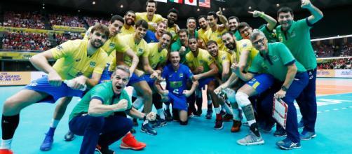 O Brasil briga para reconquistar o título mundial perdido para a Polônia, em 2014. (Divulgação: FIVB)