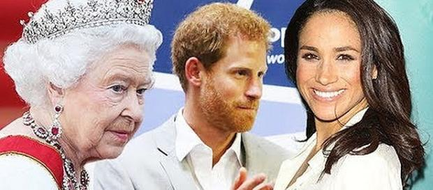 Meghan Markle and Prince Harry are getting married. - [Image: The ROYAL FAMILY News/YouTube screenshot]