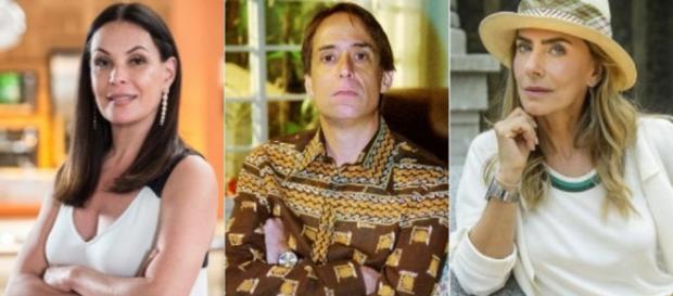 Atores são banidos por falarem mal da Globo: Pedro Cardoso, Maitê Proença e Carolina Ferraz