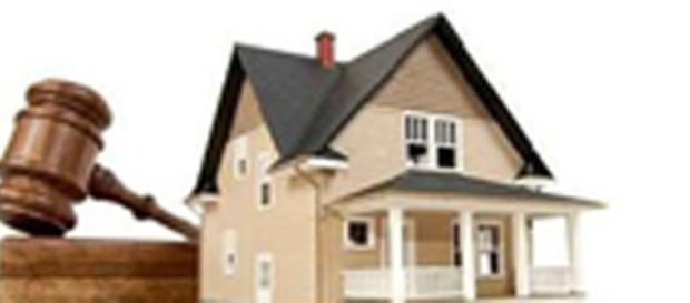 Casa ipotecata dall'Agenzia delle Entrate
