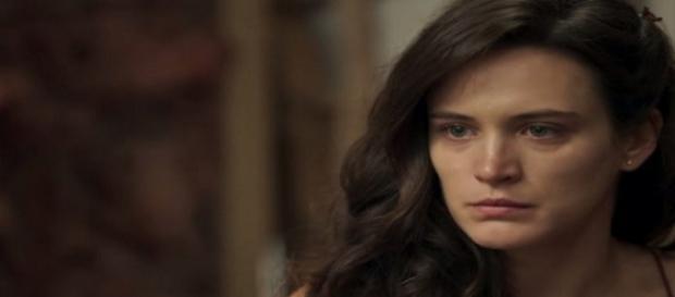 Clara finalmente terá um tempo a sós com seu filho.(Divulgação/TV Globo)