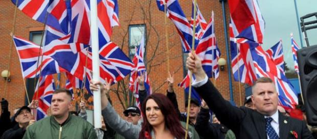Paul Golding and Jayda Fransen of Britain First - Tiofaidh ar la 1916 - Flickr