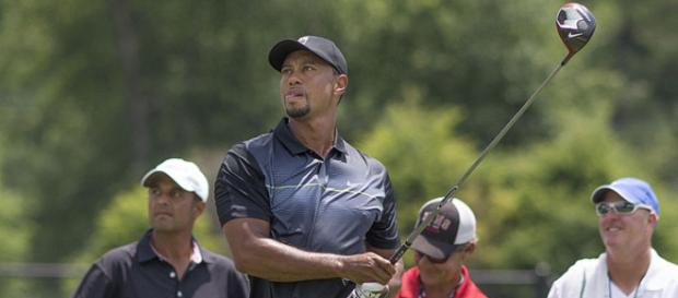 Tiger Woods in Maryland 2014 (Image credit – Keith Allison, Wikimedia Commons)