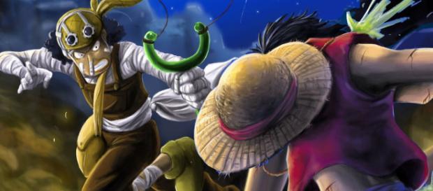 Una de las mejores peleas de One Piece