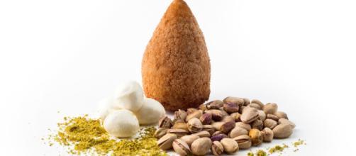 Arancino al pistacchio - Mammamia Food - mammamiafood.com