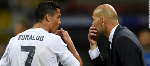Cristiano Ronaldo e Zidane querem ajudar Real Madrid