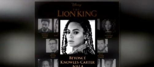 "Disney announced Beyonce will star in new live action ""The Lion King"" adaptation - (Image Credit/Inside Edition/YouTube)"