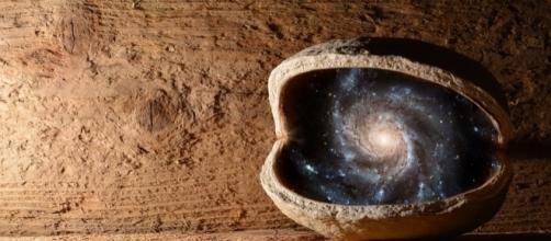 El universo es infinito. Public Domain.