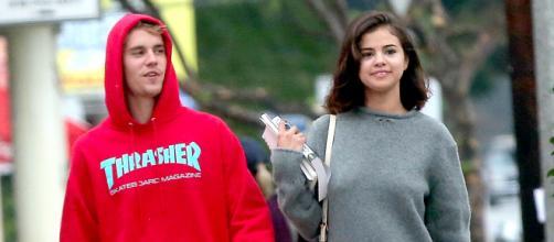 Justin Bieber and Selena Gomez hung out together on November 1, 2017. Image Credit: INSTAR Images.