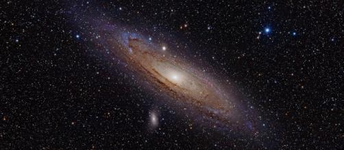 La materia oscura forma parte del universo. Public Domain.