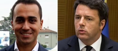 Luigi Di Maio contro Matteo Renzi