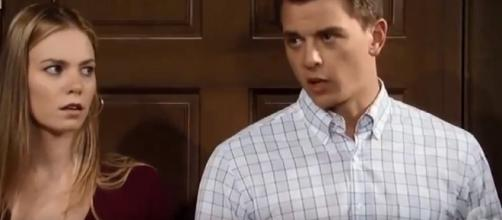 Michael Corinthos defends Nelle...but does she deserve it? [Image: Michael and Nelle Page/YouTube