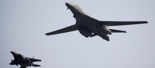Nuclear-capable US B-1B bombers fly over South Korea in show of ... - thesun.co.uk