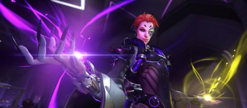 Overwatch: New character revealed/photo via https://playoverwatch.com/en-us/heroes/moira/
