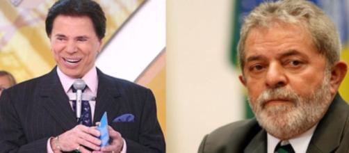Silvio Santos usou programa para detonar ideia de Lula