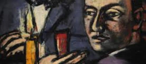 "So-called degenerative art: Max Beckmann's ""Self-Portrait"" image credit   ARTExplorer   flickr"