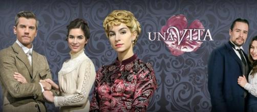 Una Vita, soap opera Canale 5.
