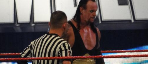 Undertaker as WHC in Royal Rumble 2009 [image credit: Chamber of Fear/Wikimedia Commons]