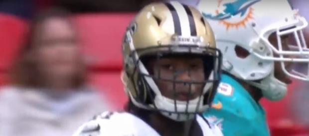 Alvin Kamara is ready for a big game vs. Tampa Bay. [Image via TrillHighlights/YouTube Screencap]