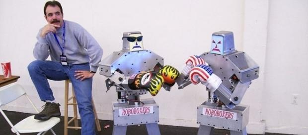 Boxing Robots (Image credit: Bill Ward/Wikimedia Commons)
