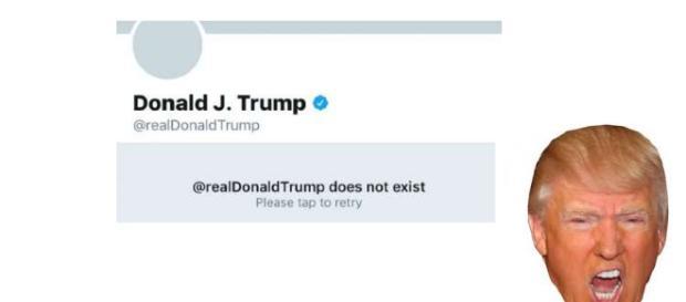 Donald Trump ficou irritado com a queda da conta