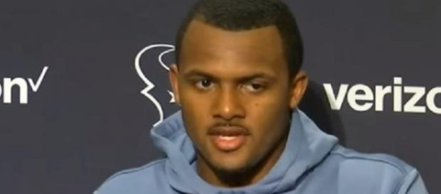 The Texans placed Deshaun Watson on injured reserve Friday (Image Credit: NFL Zone/YouTube)