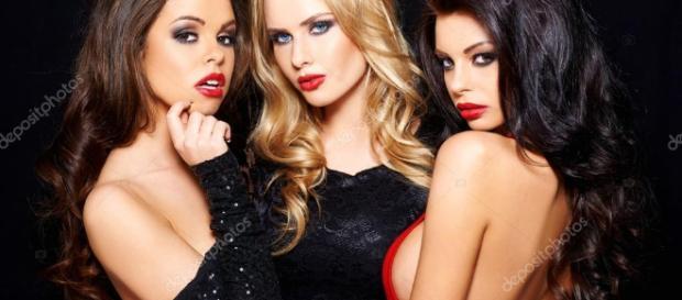 Três mulheres escorpianas e sedutoras. ( Foto: Reprodução)
