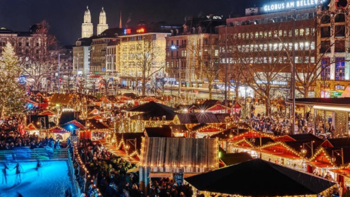 Addobbi Natalizi Zurigo.Zurigo Riparte La Stagione Del Vin Brule E Dei Mercatini Di Natale