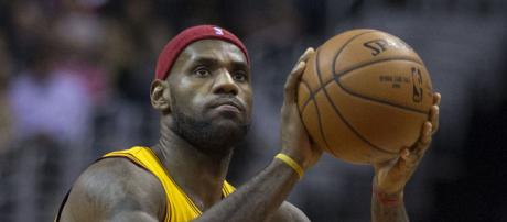 LeBron James will reportedly join the Lakers in 2018 (Image Credit: Keith Allison/WikiCommons)