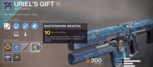 A Masterwork Weapon in 'Destiny 2.' - YouTube/More Console