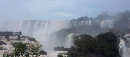 As Cataratas de Foz do Iguaçu são lindas demais!