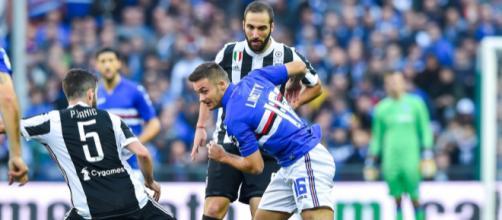 Juventus: Lite negli spogliatoi dopo la sconfitta di Marassi contro la Samp. - Copyrights: http://www.sampdoria.it/gallery/