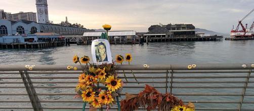 Kate Steinle memorial. - [Image courtesy Gianluca Cogoli Wikimedia Commons]