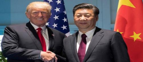 Les présidents américain et chinois