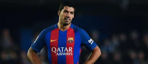 Luis Suarez 'insulted' referee during Barcelona's 1-1 draw against ... - givemesport.com