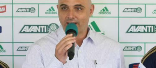 Maurício Galiotte é o presidente do Palmeiras