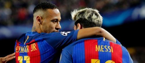 Neymar y Messi tienen algo en común