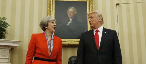 Rencontre May-Trump: une caricature du Guardian indigne la Toile ... - sputniknews.com