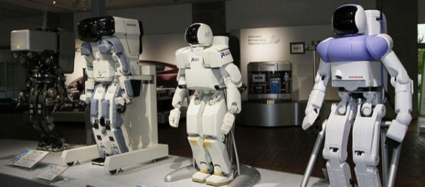Honda prototype robots (Image credit – Morio, Wikimedia Commons)