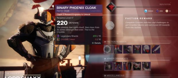 Weapon/Faction changes coming for D2 on December 12th - [Image via Bungie/Youtube]