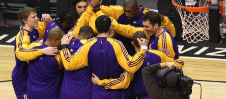 Los Angeles Lakers | Image via Keith Allison/Flickr
