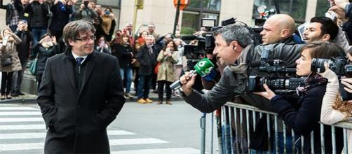Carles Puigdemont en Bruselas, Agencia EFE