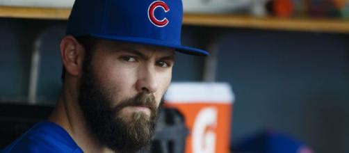 Chicago Cubs: Is there a case to trade ace pitcher Jake Arrieta? -[Image via CubbiesCrib/YouTube]