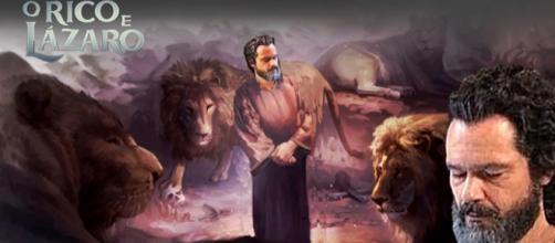 Daniel na cova dos leões será exibido na novela 'O Rico e Lázaro'
