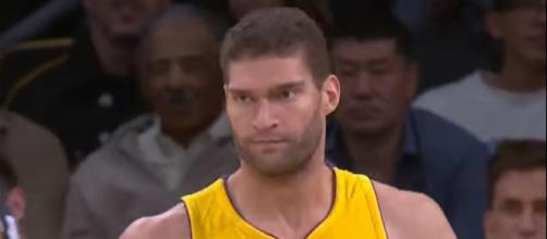 Lakers center Brook Lopez dropped 34 points on the Nets -- Sabhack via YouTube